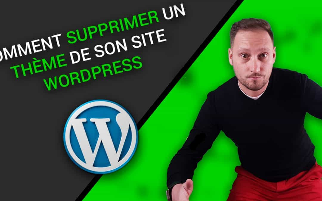 Comment SUPPRIMER un THEME WORDPRESS en LOCAL