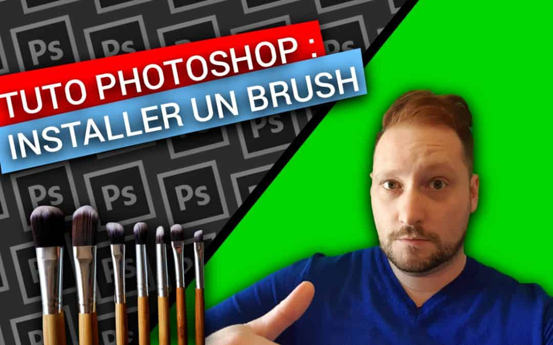PHOTOSHOP : Comment INSTALLER Des BRUSHES Facilement